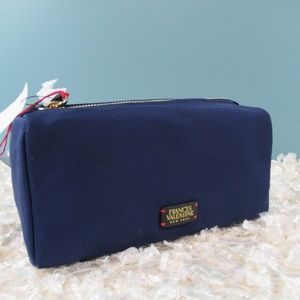 Frances Valentine Navy Daily Cosmetic Bag